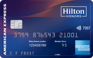 HILTON HONORS AMERICAN EXPRESS ASPIRE
