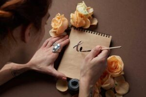 WRITE romantic LOVE LETTER